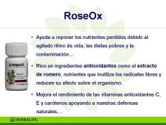 Productos herbalife roseox