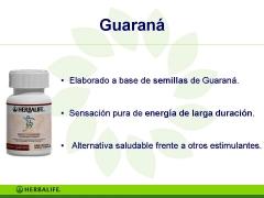 Productos herbalife guaraná