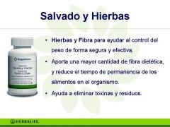 Productos herbalife salvado y hierbas