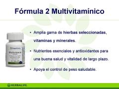 Productos herbalife formula 2 vitaminas
