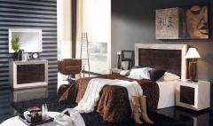 Dormitorio bambu moderno