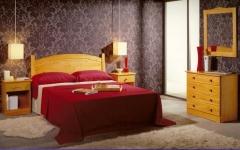 Dormitorio pino miel