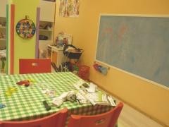 Pizarra y mesa manualidades