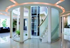 Agile: elevador vertical neumático de largo recorrido. estético, adaptable a todo tipo de ambientes.