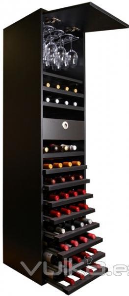 Foto mueble para vino merlot vip con diferentes for Mueble vinos