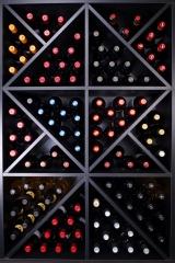Mueble para vino merlot super fabricado por www.expovinalia.com