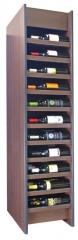 Expositor para vinos syrah con capacidad para 66 botellas, fabricado por www.expovinalia.com