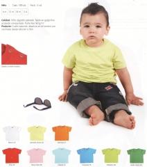 Camiseta infantil beb�. ref: rol-baby 6564