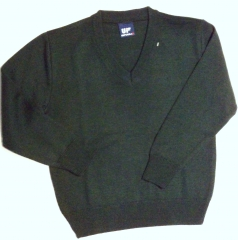 Jersey de cuello pico o redondo