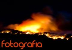 Fuego en Gredos 2012, fotografía profesional