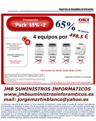 Super ofertas en maquinas oki pack de 5 maquinas 498,5 euros