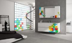 ba�o pamplona, que bonito este mueble de rooms de cocinobra modelo pixel de la firma uniba�o