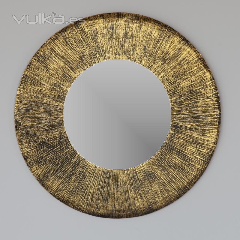 Foto espejos en dm artesanales 3 motivos diferentes for Espejos diferentes