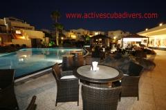 Active scuba divers en hotel vitalclass lanazarote