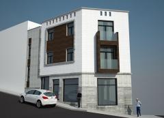 Edificio de 2 viviendas, comercial y garajes. los alisios. s/c de tenerife.