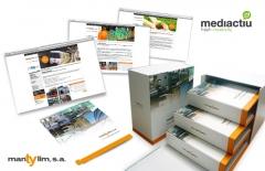 Proyectos de packaging, imagen corporativa, diseño branding para mantylim barcelona