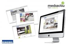 Creación web para empresa lider del sector del mueble. estudios de diseño web en barcelona