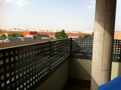 Quitamiedos para terraza