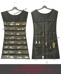Joyero. organizador de joyas y bisuteria. modelo little black dress
