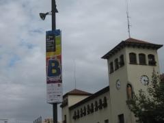 Pancartas verticales de gran formato