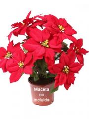 Flor de pascua artificial economica oasis decor