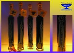 Botellas obelisco para bodas