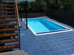 Pavimentos bergo para duchas, vestuarios, piscinas, terrazas