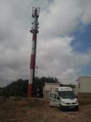Trabajo en antenas de telecomunicaciones