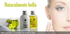 Belleza gourmet. cosmética ecológica a base de aceite de oliva