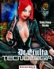 II prueba en Photoshop para la portada de la novela cyber-g�tica: