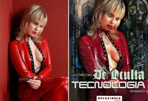 III prueba para la portada de la novela cyber-gótica: