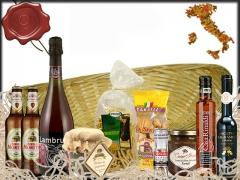 Realizamos cestas regalo personalizadas. regalos de empresa y detalles para celebraciones.