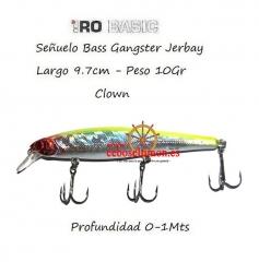 Www.ceboseltimon.es - se�uelo hiro 9.7cm bass gangster jerbay clown 10gr