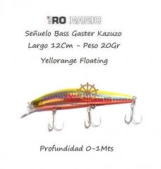 Www.ceboseltimon.es - se�uelo hiro 12cm bass gangster kazuko 20gr burning  floatin