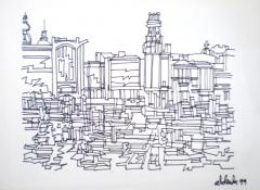 Alfonso Abelenda - Obra gráfica - El Parrote B/N - Med. 36 x 48 cm - 500 EUR