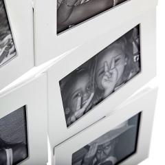 Portafotos multi ventanas. portafotos multiple bosco blanco 10x15 9 fotos en la llimona home (1)