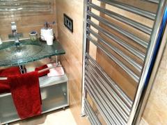 Radiador toallero cromado
