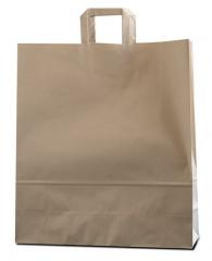 Bolsas de papel con asa plana o rizada