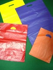Bolsas de plastico con asa troquelada