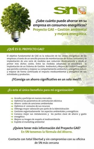 GAE: Ahorro energético