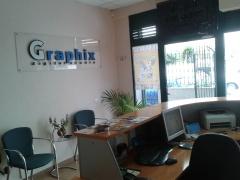 Instalaciones de graphix digital studio. imprenta y diseño gráfico