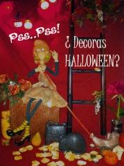 Todos los elementos para pasar un halloween, horroroso y tenebroso con mucho encanto!!