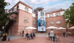 Terraza del edificio Padre Arrupe