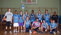 Equipo de baloncesto de SLU Madrid