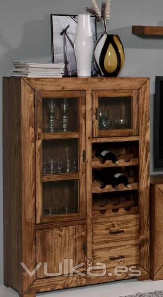 Foto mueble bar colonial rustico - Mueble rustico colonial ...