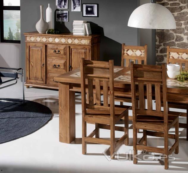 Foto comedor rustico marmol - Fotos muebles rusticos ...