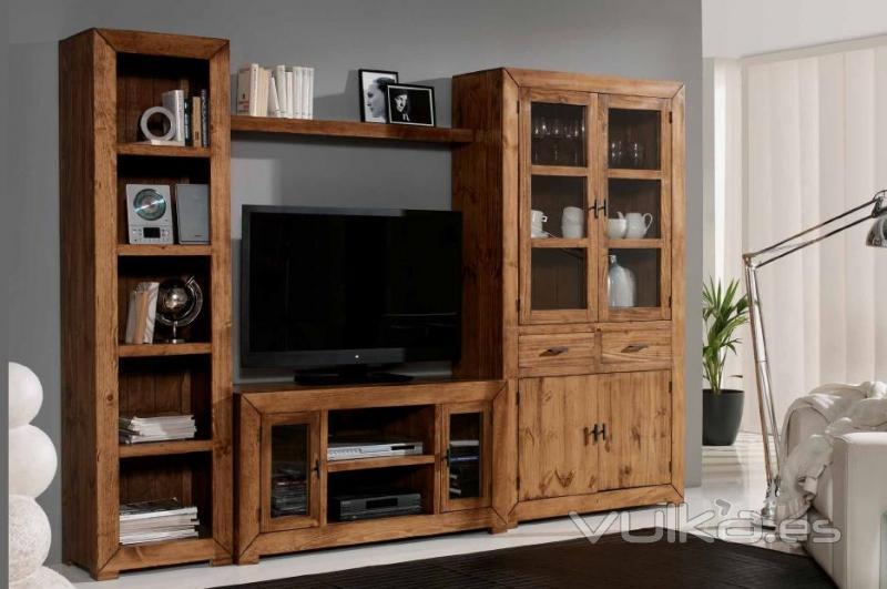 foto mueble comedor rustico