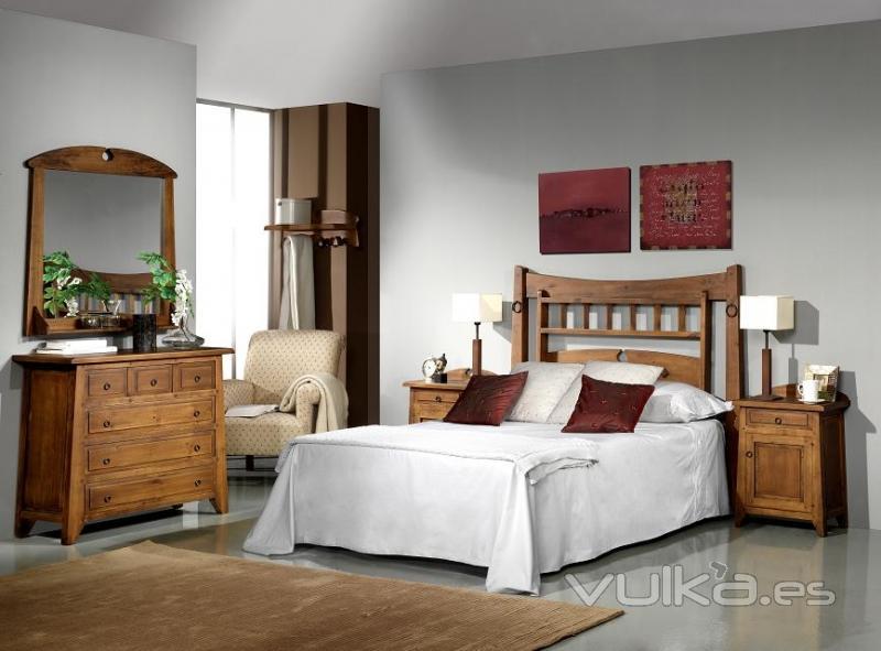 Habitaciones Decoracion Rustica ~ Silarte Muebles R?sticos