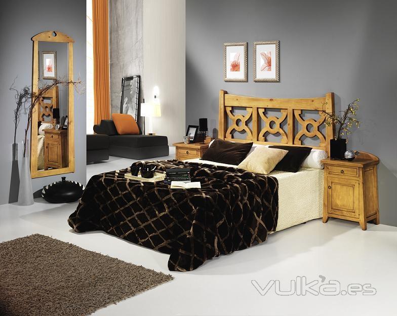 Pintar Dormitorio Matrimonio Rustico : Foto dormitorio rustico matrimonio