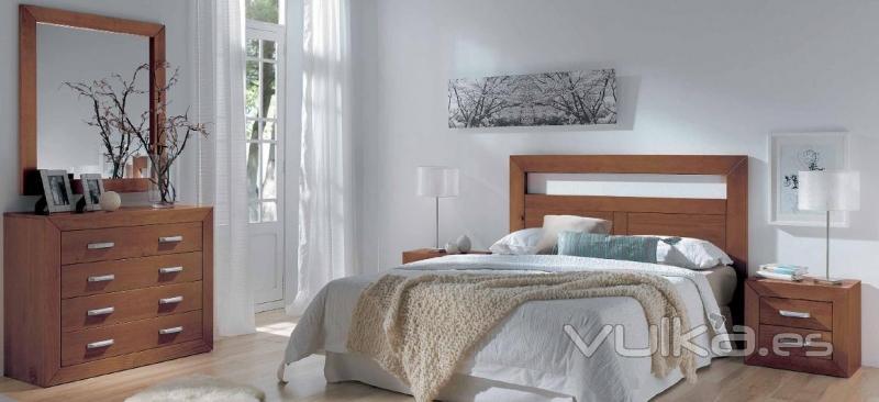 Foto dormitorio matrimonio madera for Dormitorio matrimonio madera